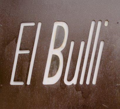 el bulli sign