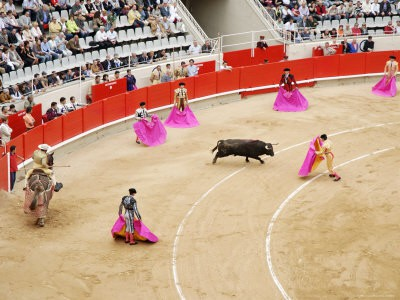 monumental bullfight
